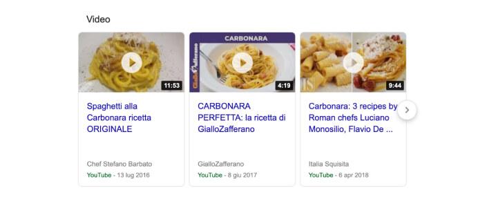 google-video-suggeriti