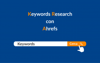 Keyword research con Ahrefs