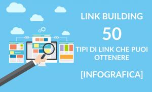 Link Building - 50 tipi di link che puoi ottenere