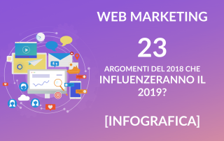Web marketing - novità 2019