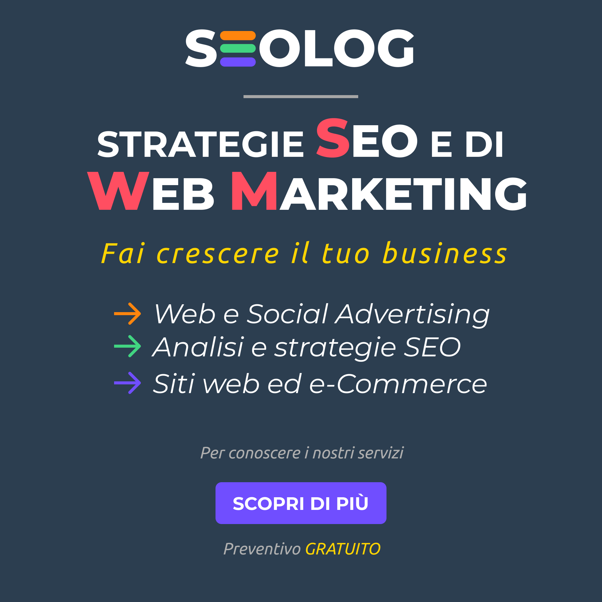 Servizi seo e web marketing - Banner_quadrato