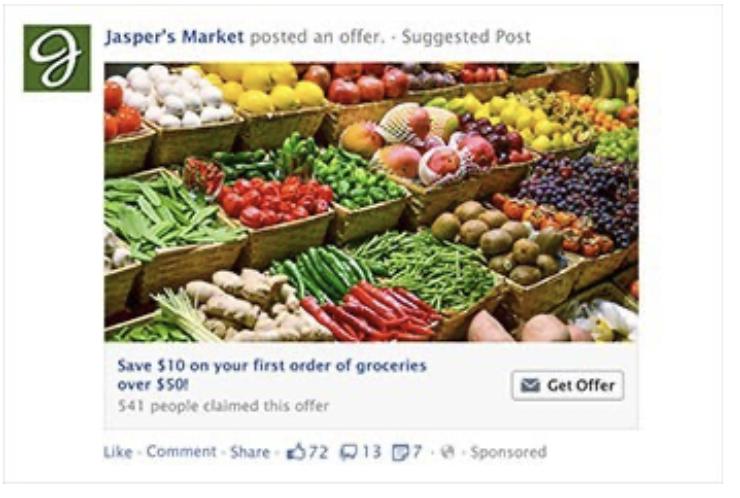 Annuncio Facebook Ads - Offerta