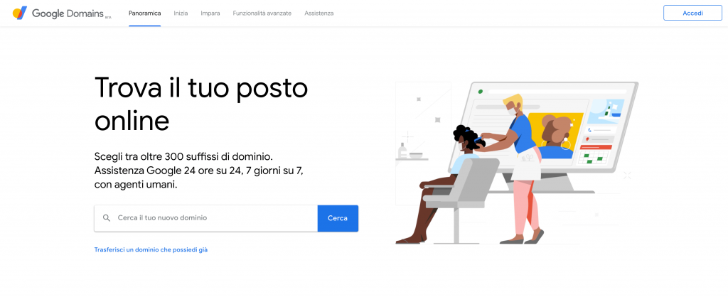 dominio-per-sito-we-aziendale